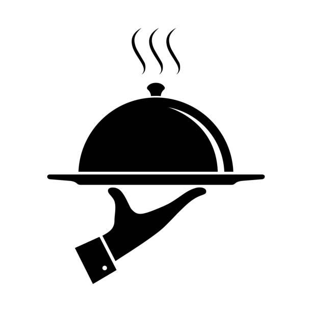 illustrazioni stock, clip art, cartoni animati e icone di tendenza di serving - mestiere nella ristorazione