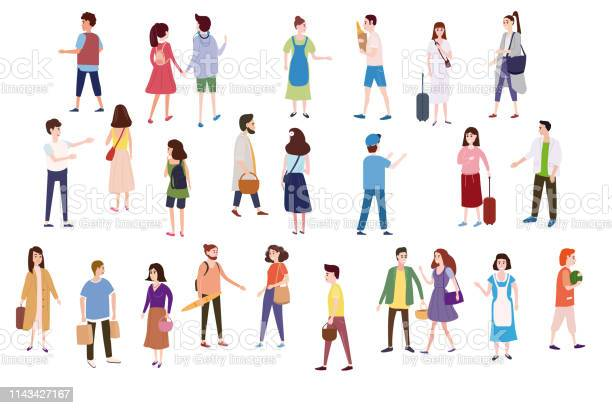 Set a crowd of people characters go about their business make loving vector id1143427167?b=1&k=6&m=1143427167&s=612x612&h=zw ubb3n1bkay2gtghwcpagux14yemtmwl unn3nkxs=
