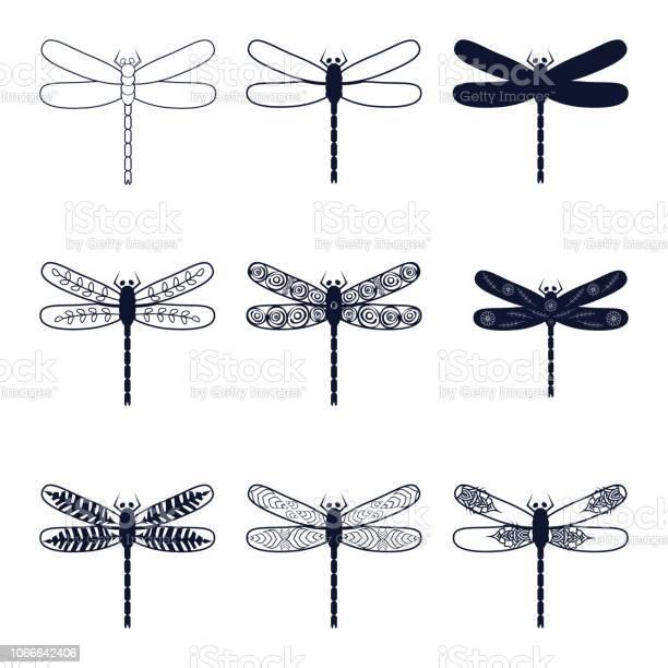 Set abstract images of dragonflies vector id1066642406?b=1&k=6&m=1066642406&s=612x612&h=geqlzvl7fum6f qhobz83j8ty177ombixz hps36rfq=