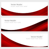 Set  abstract vector background