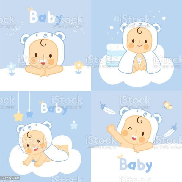 Set baby with bear towels washcloths vector id947776902?b=1&k=6&m=947776902&s=612x612&h=zkxecevicdootjjp3juwamh6ag7opxqifupfejioonw=