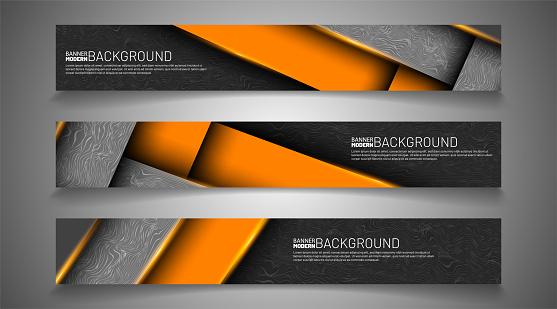 Set banner background for your design. vector graphic design illustration. suitable for your background design