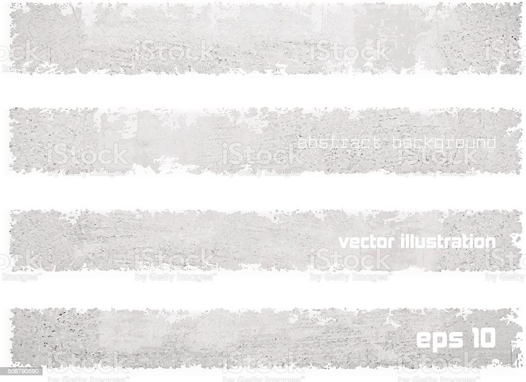 Set banners vector art illustration