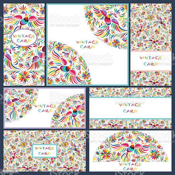 Set business cards with floral mexican pattern vector id623296230?b=1&k=6&m=623296230&s=612x612&h= 1aogquuma4lcwsoay9zppgoodf7ermwnjdm7mjplhw=