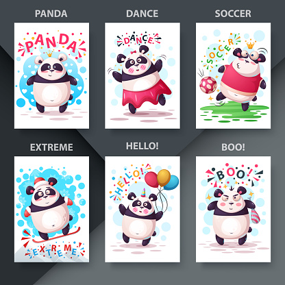 Set cartoon animals. Illustration for your idea