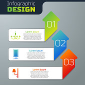 Set Chandelier, Big full length mirror and Wall sconce. Business infographic template. Vector