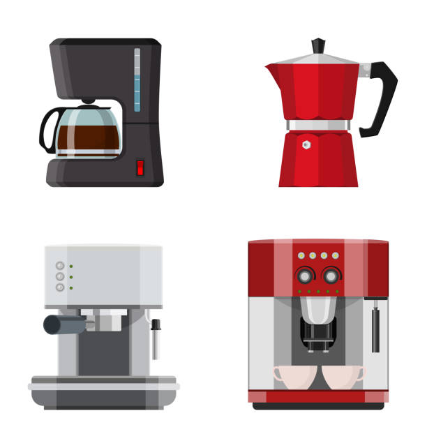 11,487 Coffee Machine Illustrations & Clip Art - iStock