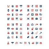 Set color icons of house system