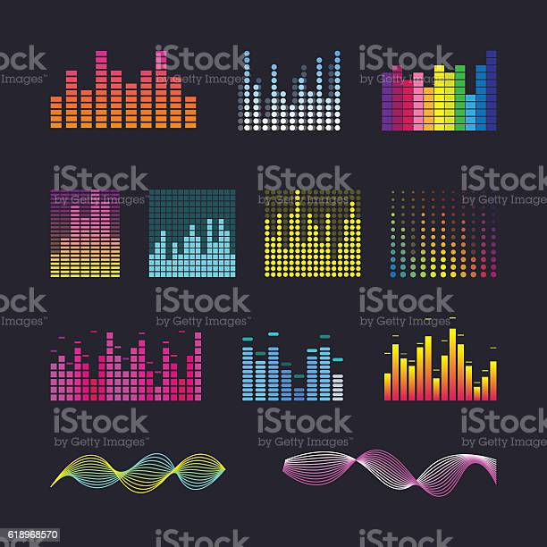 Set colorful ui ux music equalizer sound waves vector id618968570?b=1&k=6&m=618968570&s=612x612&h= 8de6ne mhmqwa49mdq6q2q2toqh5nri7socqy2gfps=