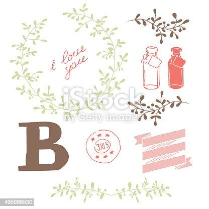 istock Set decoration 495986530