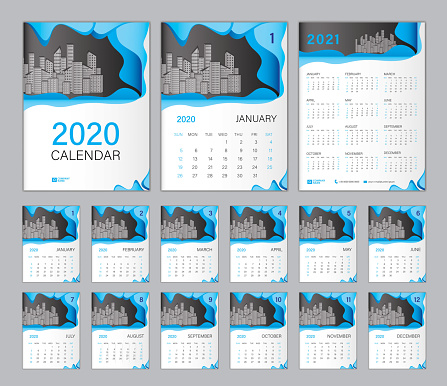 Définir Le Modèle Calendrier De Bureau 2020 Calendrier 2021