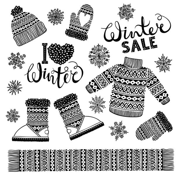 Best Mittens Illustrations, Royalty-Free Vector Graphics