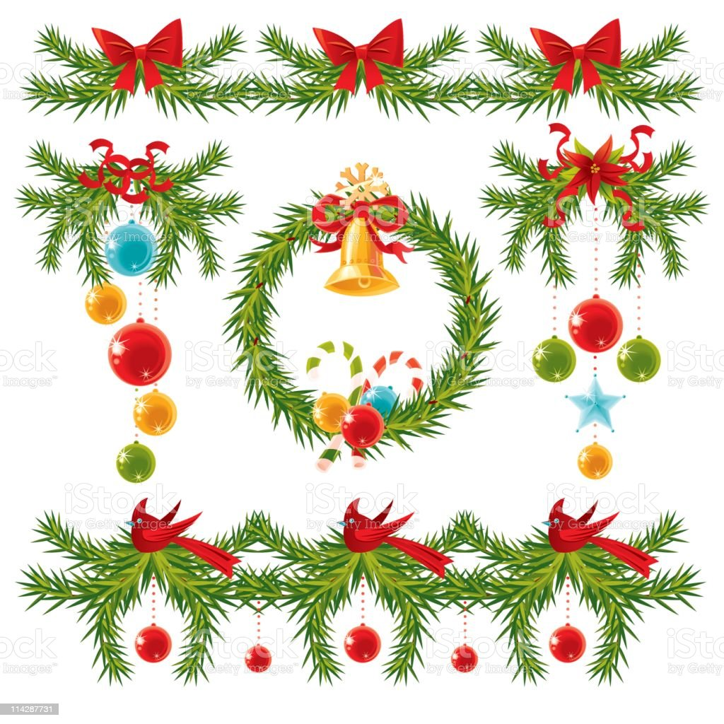 Set for Christmas Time royalty-free set for christmas time stock vector art & more images of bell