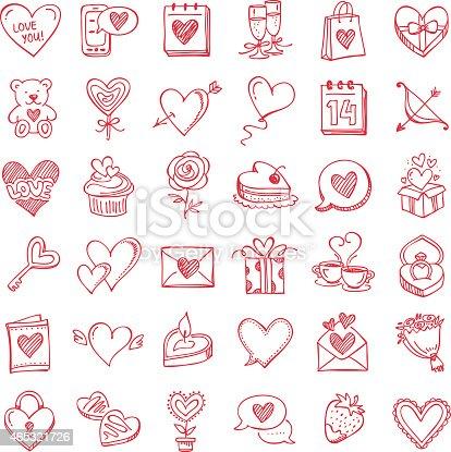 Set for Valentine's Day