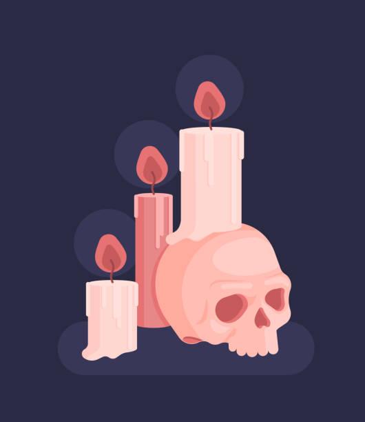 ilustrações de stock, clip art, desenhos animados e ícones de set for witches magic ritual. witchcraft - seitas