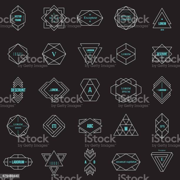 Set geometric signs labels and frames vector id679469440?b=1&k=6&m=679469440&s=612x612&h=rcr16zutd rcsonipgs8k1ueywpfexrtyarc7vr4fyo=