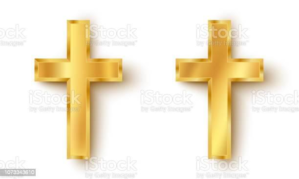 Set icons of a golden cross vector id1073343610?b=1&k=6&m=1073343610&s=612x612&h=wnqsvui2kgx4ntsy axu4yq72qgkdkor1db516xqimi=