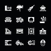 Set icons of mining
