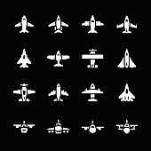 Set icons of planes