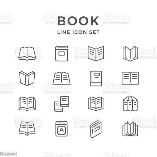 Set line icons of book vector id866307176?b=1&k=6&m=866307176&s=612x612&h=asd21u4gkrdzckv8uaylbhyze2unlljbt0kp6vn4hpa=