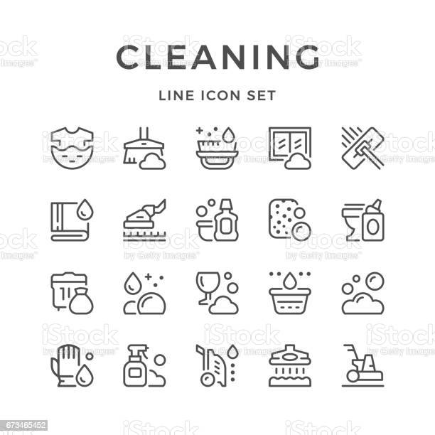 Set line icons of cleaning vector id673465452?b=1&k=6&m=673465452&s=612x612&h=wt2q0n3awyknzjedhsb3hjgnqdwpdkgasif edcnmfc=