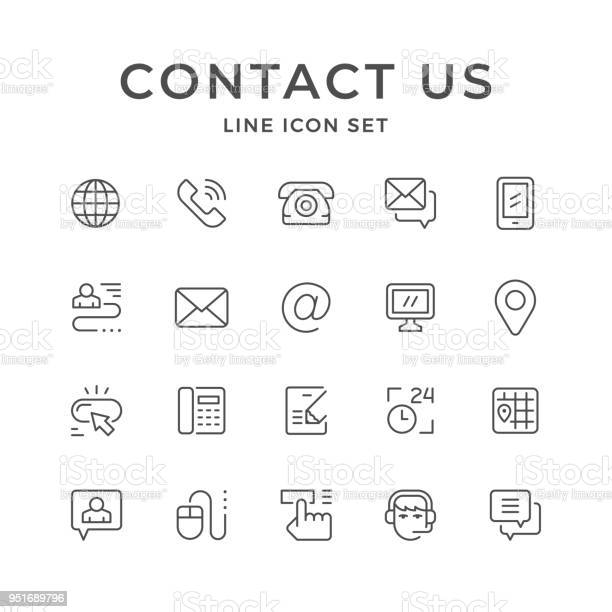 Set line icons of contact us vector id951689796?b=1&k=6&m=951689796&s=612x612&h=gd3pqfjkfbmfkjh2jcxkjqxeyiftm57zdneek8scqhm=