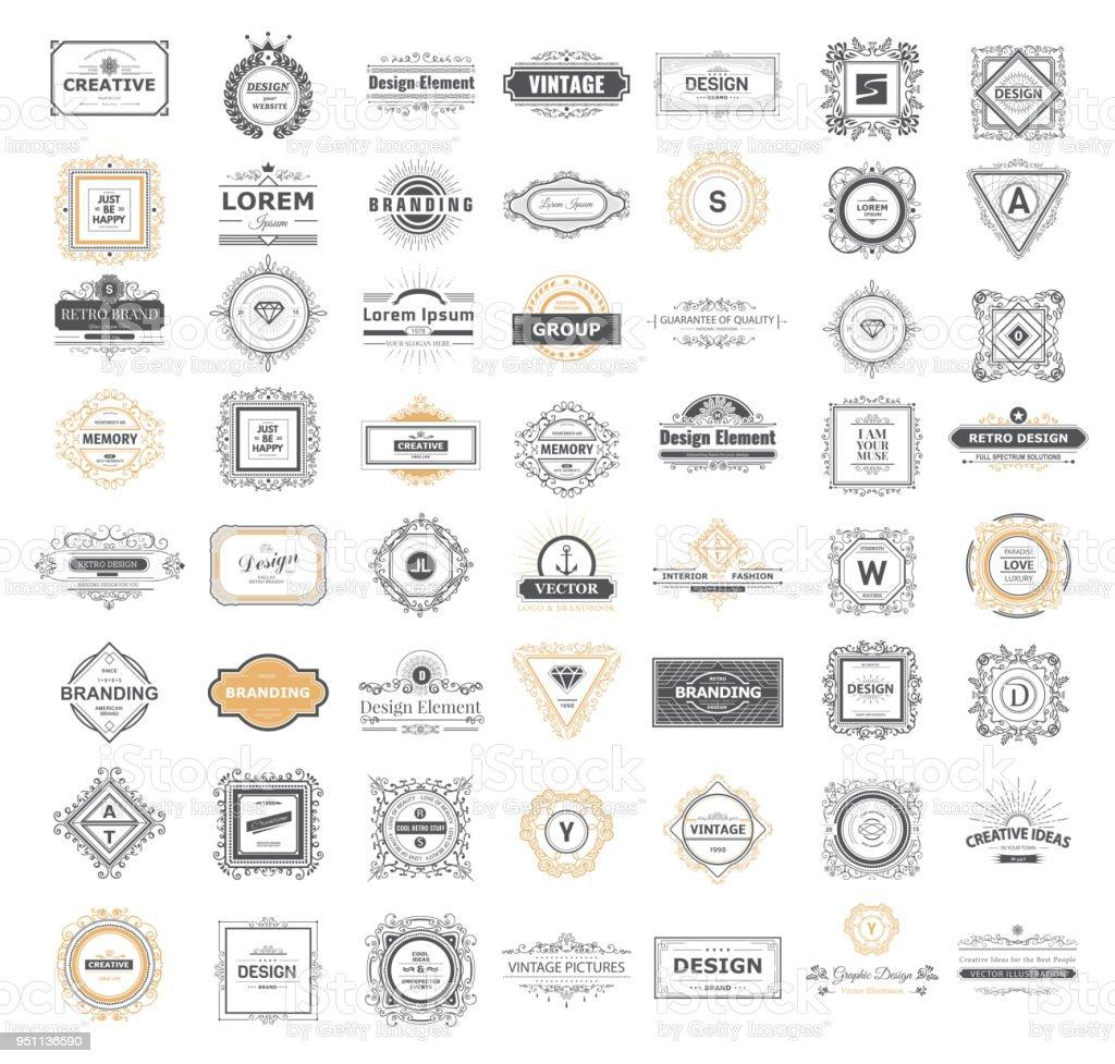 Signe de luxe - Illustration vectorielle