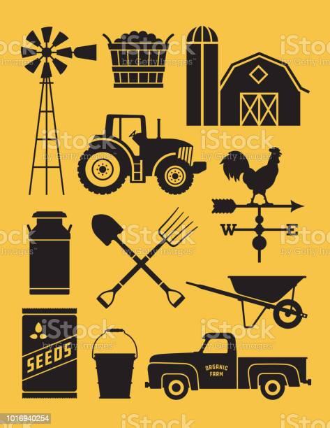 Set of 11 detailed farm icon illustrations vector id1016940254?b=1&k=6&m=1016940254&s=612x612&h=01ibpbx1ct9drch5mqxrxwhz3edxkv2elzos 0oudi4=