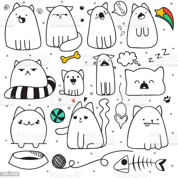 Set of 11 sticker doodle cats different emotions cat handmade vector id485070602?b=1&k=6&m=485070602&s=612x612&h=aon3ef8nhzn8t3xxompyngldqr ytzswluefbx0zvpy=
