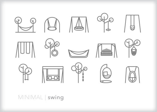 Best Porch Swing Illustrations Royalty Free Vector