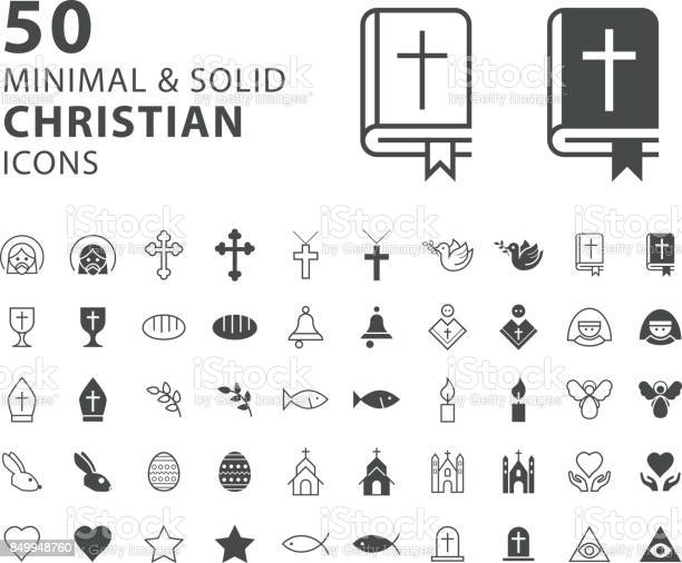 Set of 50 minimal and solid christian icons on white background vector id849948760?b=1&k=6&m=849948760&s=612x612&h=l5p uilkorjperzajtbucx2yjzhe8sw7z3rgvm3ooj4=