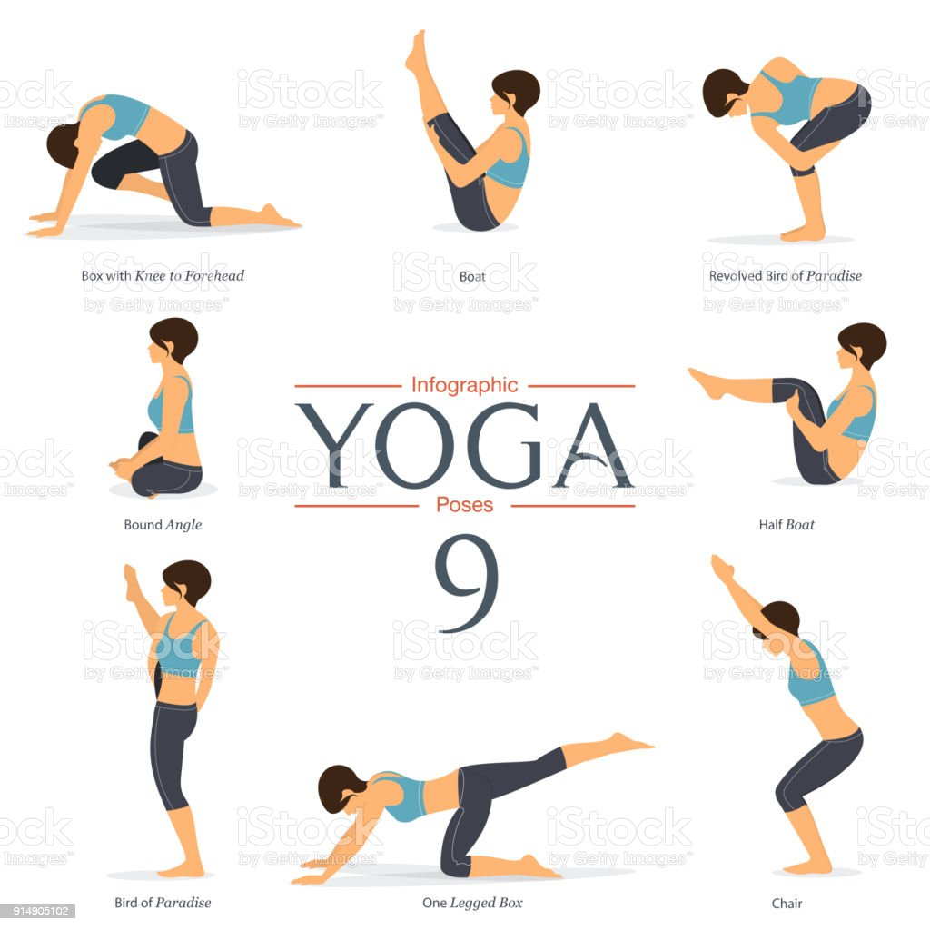 8 yoga poses