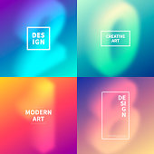 Set of four modern and trendy number designs. 2018 or number 2 (two), 0 (zero), 1 (one), 8 (eight) blurred in isometric view with beautiful color gradients (purple, cyan, blue, green, orange, red, pink, beige). Vector Illustration (EPS10, well layered and grouped). Easy to edit, manipulate, resize or colorize. Please do not hesitate to contact me if you have any questions, or need to customise the illustration. http://www.istockphoto.com/portfolio/bgblue