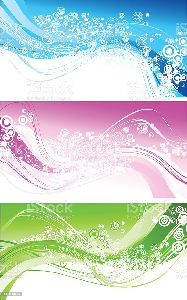 Set of abstract banners royalty-free set of abstract banners stock vector art & more images of abstract