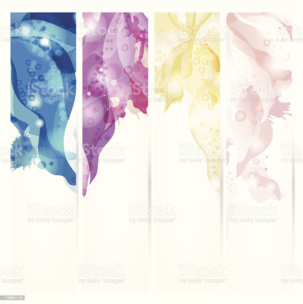Set of abstract headers royalty-free set of abstract headers stock vector art & more images of abstract