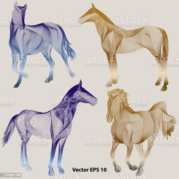 Set of abstract horses vector id1150082788?b=1&k=6&m=1150082788&s=612x612&h=f05ocqihvrvt6ihj 9geuiqklktyca4929ehr cknwg=