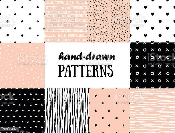 Set of abstract seamless patterns in pink white and black vector id509034972?b=1&k=6&m=509034972&s=612x612&h=om1pv5ugsnlbx rmmnsvk8tw8zkm0q tj8mgdekdsfi=