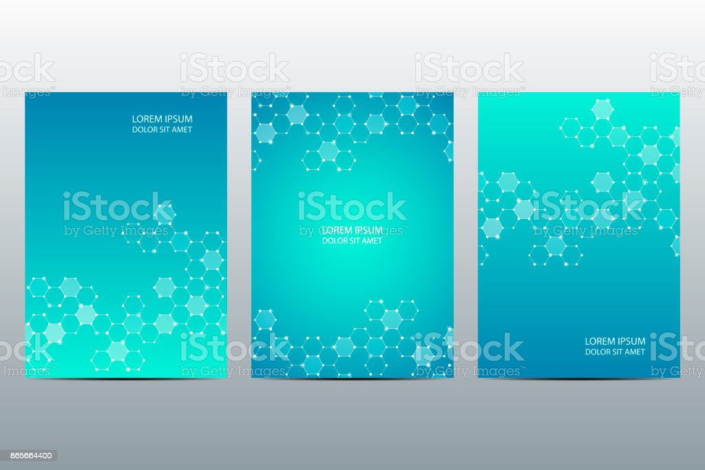 set of abstract vector covers template brochure layout design square