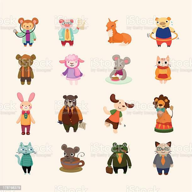 Set of animal icons vector id178768379?b=1&k=6&m=178768379&s=612x612&h= bdadajj0qtnabrn 4bysskxmkznmlsd3waeqqjwpkc=