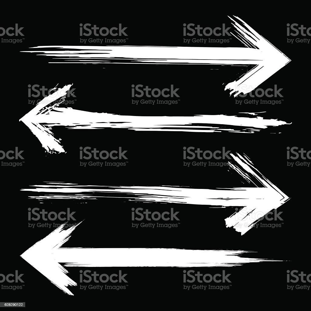 Ensemble de flèches - Illustration vectorielle