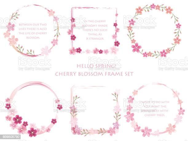 Set of assorted cherry blossom frames vector id939505792?b=1&k=6&m=939505792&s=612x612&h=q4nbb9xh64uswqq4h8qmo 51fv1v0tx25p3bkzuroha=