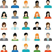 Infographic, Vector, Avatar, People, Hipster - Person