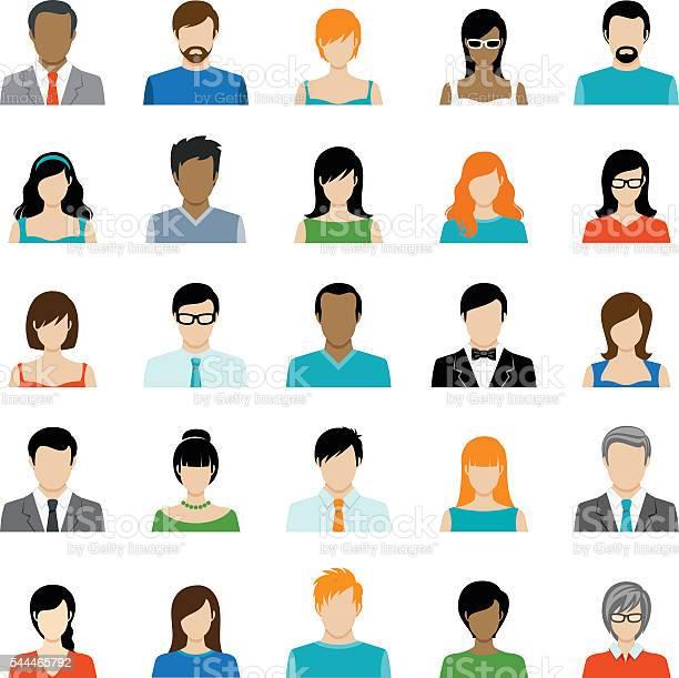 Set of avatar color icons vector id544465792?b=1&k=6&m=544465792&s=612x612&h=wdxczmk uzf annbcqecy1gtalhjw9rbjvp81wumowo=