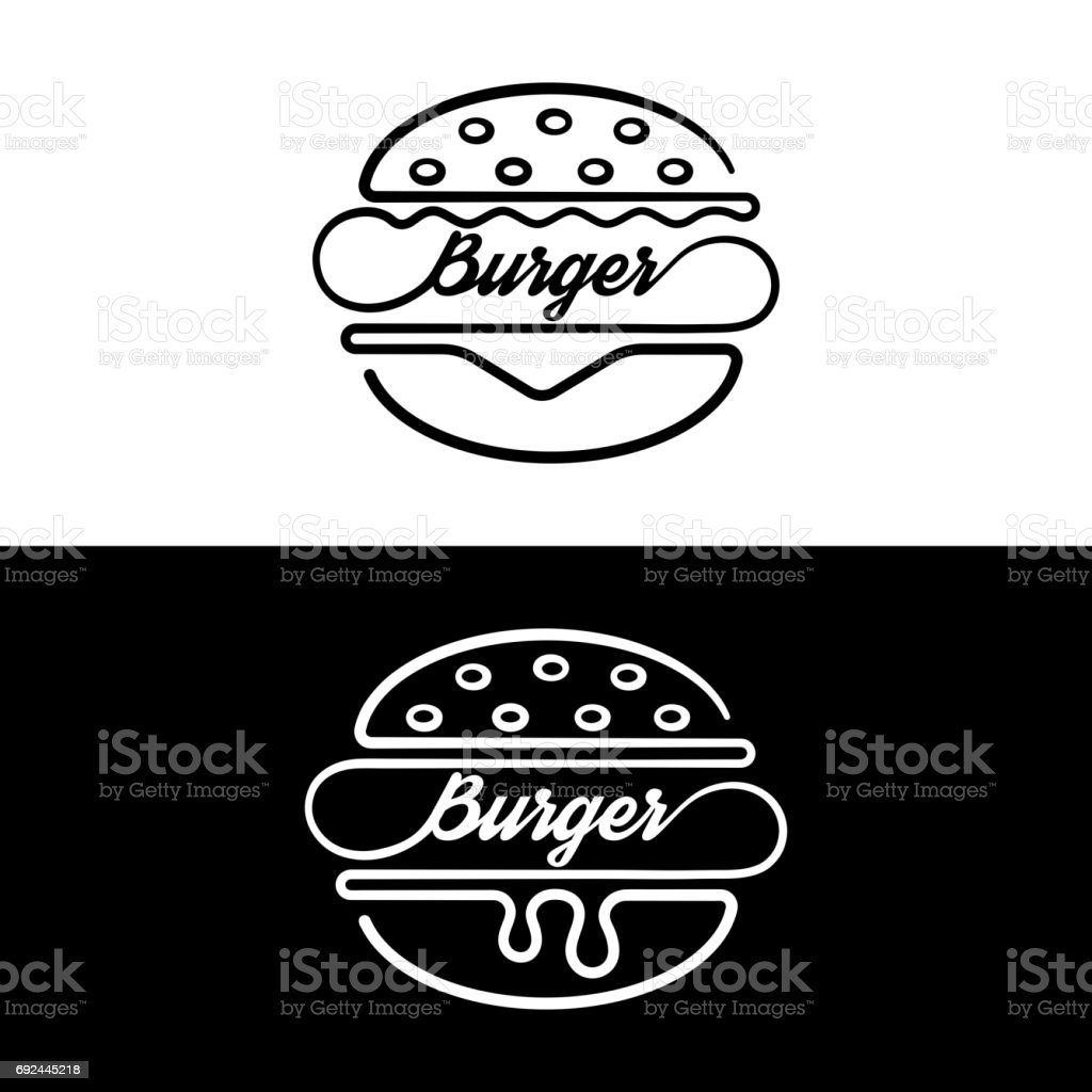 Jeu de sandwich de badges - Illustration vectorielle