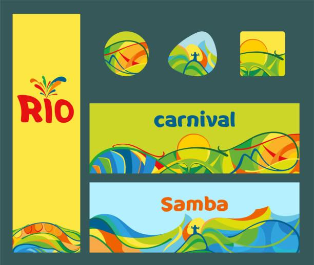 Rio De Janeiro Beach Illustrations, Royalty-Free Vector ...
