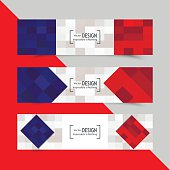 Set of banners for Euro 2016 World FIFA championship
