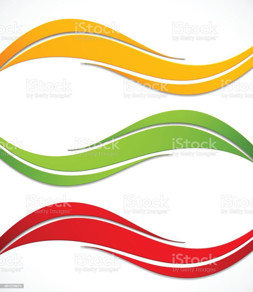 Set of banners vector art illustration