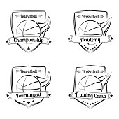 Free download of Basketball Camp Flyer vector graphics and