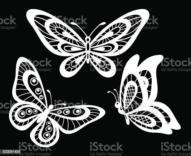 Set of beautiful black and white guipure lace butterflies isolated vector id520091404?b=1&k=6&m=520091404&s=612x612&h=di0s5h2au77o5hcnufnvcikegz arobk9rraozft0xo=
