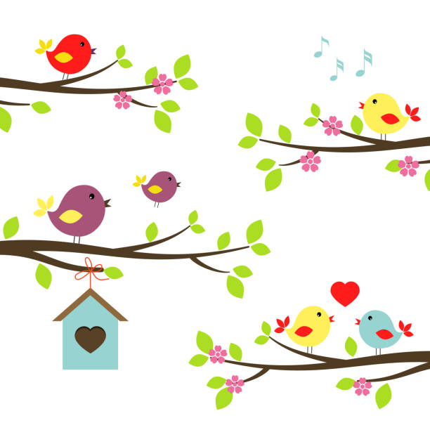 Spring Music Illustrations, Royalty-Free Vector Graphics ...